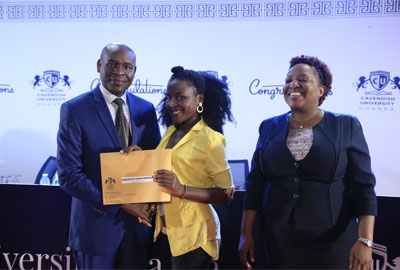 60 students to be awarded Cavendish University Excellence Scholarships in 2020