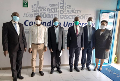 NCHE Inspects Cavendish University Uganda's readiness to offer Open, Distance and E- Learning (ODeL)