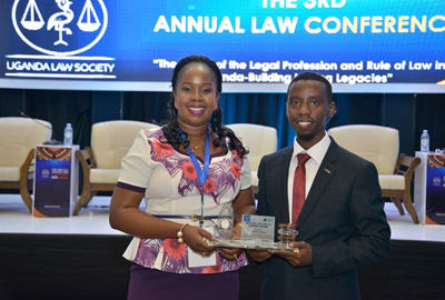 Cavendish Law Staff receives a Rule of Law Young Lawyer's Award