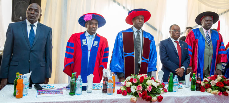 CUU Vice Chancellor graces Kabojja International School's Graduation