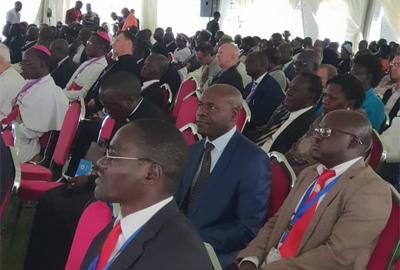 Cavendish University Uganda Vice Chancellor attends the SECAM Golden Jubilee Celebrations
