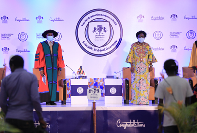 Cavendish University sets Precedence - Holds first ever Virtual Graduation in Uganda