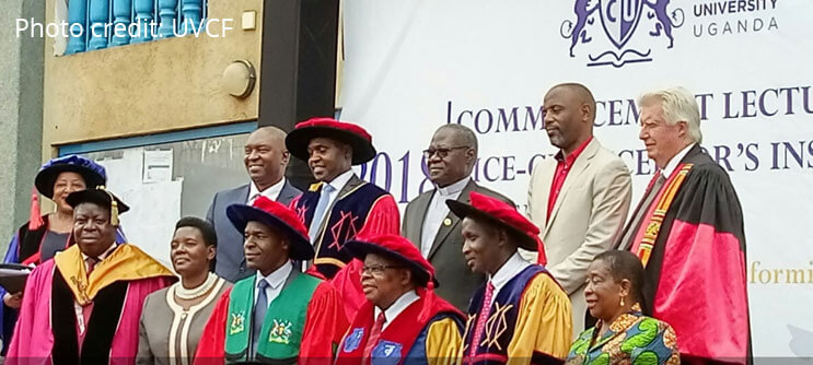 cavendish university uganda court installed vicechancellor