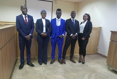 Cavendish University Uganda qualifies for 14th International Rounds of Press Media Law Moot Court Competition at Oxford University