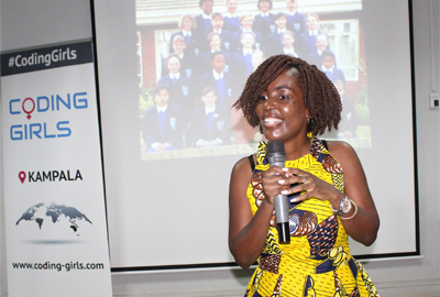 'Coding Girls' visits Cavendish University Uganda
