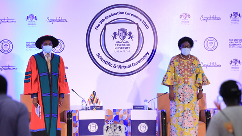 Cavendish University holds First Virtual and Scientific Graduation in Uganda