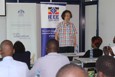 Cavendish University Uganda hosts prestigious IEEE Distinguished Lecture